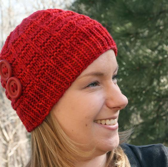 Jennifer Head-Hugger Hat - Knitting Patterns and Crochet Patterns ...