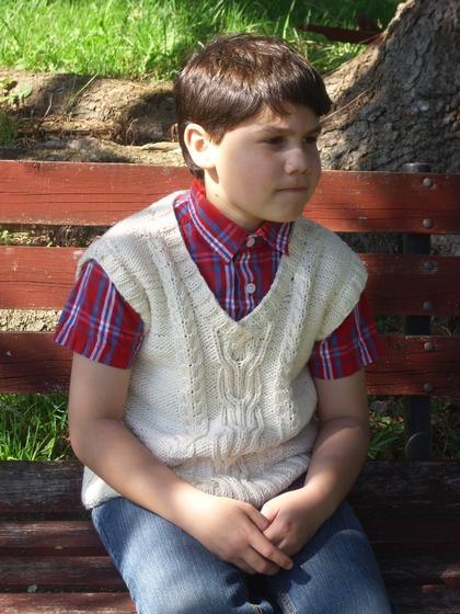 Rowans Church Vest Knitting Patterns And Crochet Patterns From