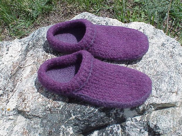 Felted Clogs Made Easy Knitting Patterns And Crochet Patterns