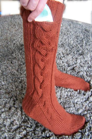Subway Boot Socks Knitting Patterns And Crochet Patterns From