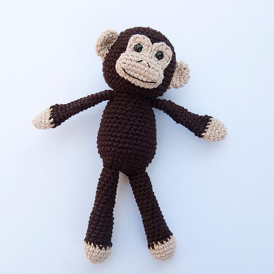 Monkey Business! Crochet Toy - Knitting Patterns and Crochet Patterns from Kn...