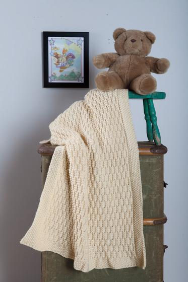 As Sweet As Honey Baby Blanket Knitting Patterns And