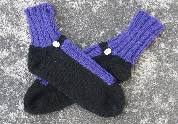 Fancy Shoes Slipper Socks Knitting Patterns And Crochet Patterns