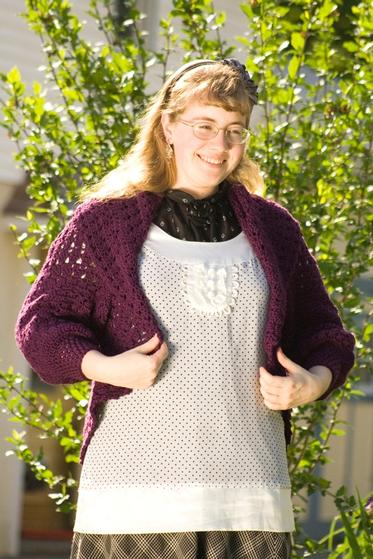 Heather On The Hill Versatile Circle Crochet Bolero Knitting
