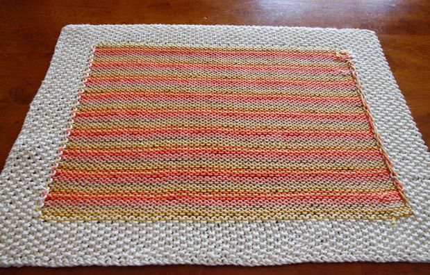 At Home Dining Placemat Knitting Patterns And Crochet