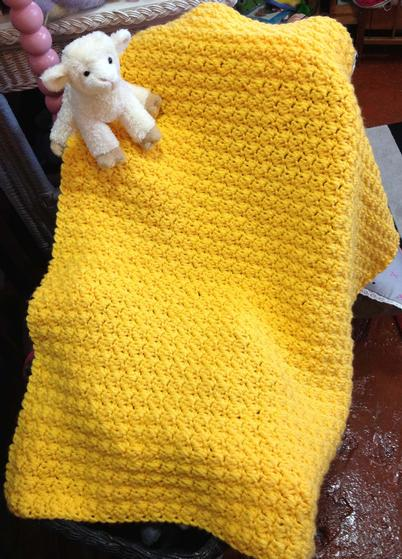 Huggable Crocheted Baby Blanket Knitting Patterns And Crochet