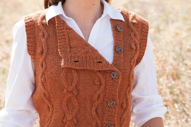 Tumbleweed Vest Knitting Patterns And Crochet Patterns From