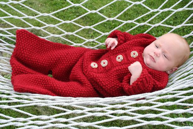 Sweet Dreams Baby Bunting Knitting Patterns And Crochet Patterns