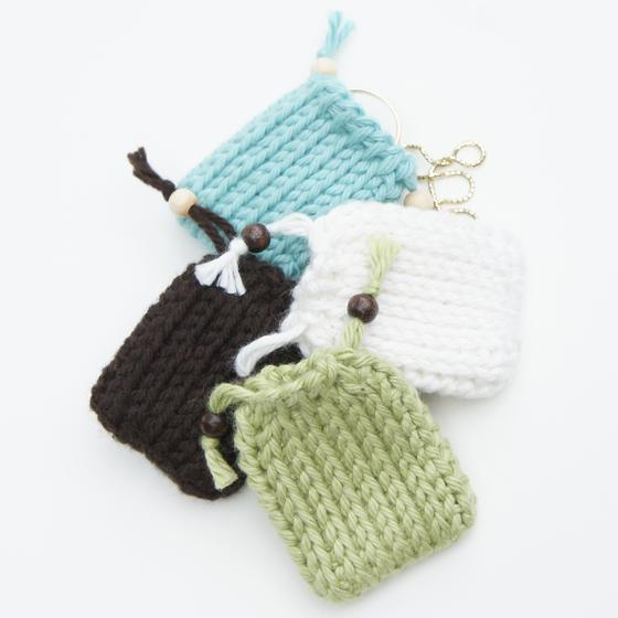 Knitting Pattern For A String Bag : Drawstring Gift Bags - Tunisian Crochet Pattern - Knitting ...