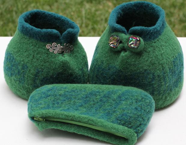 Large Small Slip Stitch Yarn Bowls Accessory Pouch Knitting