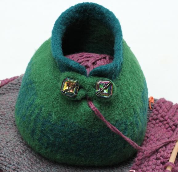 Large & Small Slip Stitch Yarn Bowls & Accessory Pouch ...
