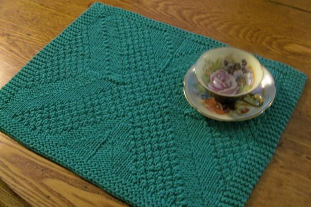 Really Reversible Placemats Table Runners Collection Knitting