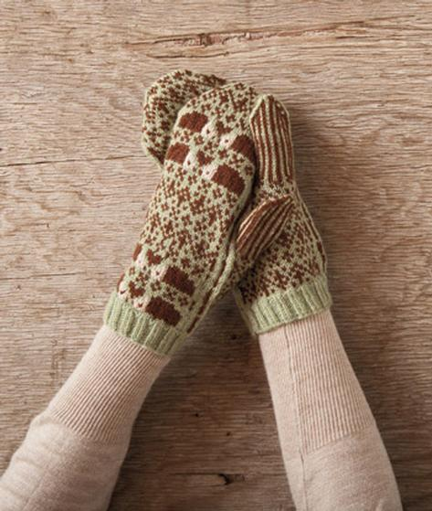 The Hedgehog Mittens Knitting Patterns And Crochet Patterns From