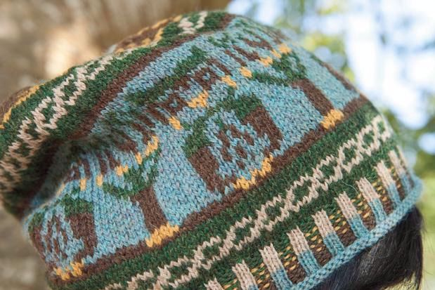 Celtic Owl Hat Knitting Patterns And Crochet Patterns From
