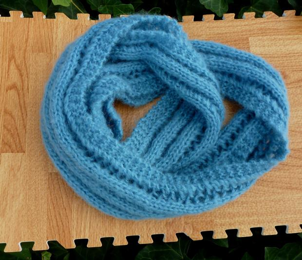 Is Crocheting Quicker Than Knitting : Lighter Than Air Infinity Scarf - Knitting Patterns and Crochet ...