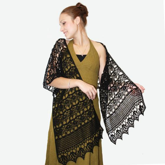 Midnight Crochet Wrap Knitting Patterns And Crochet Patterns From