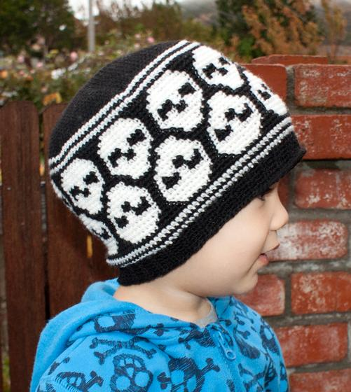 All Ages Super Skull Crochet Beanie Knitting Patterns And Crochet