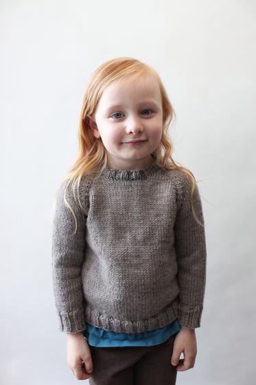 Childs Classic Raglan Pullover Knitting Patterns And Crochet