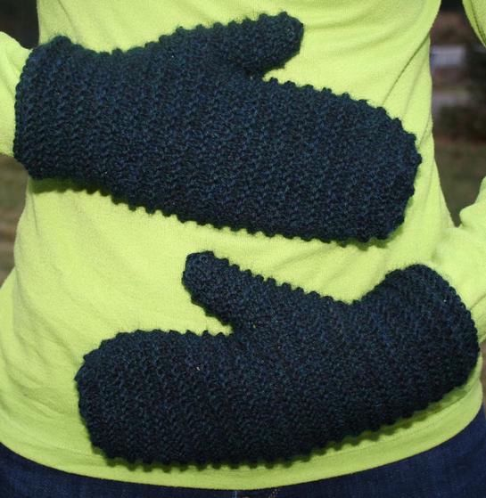 Double Lined Mittens Knitting Patterns And Crochet Patterns From