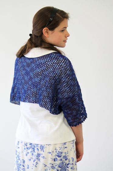 Crochet Starlight Shoulderette Or Shrug Knitting Patterns And