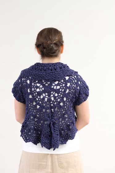 Forget Me Not Circle Crochet Shrug Knitting Patterns And Crochet