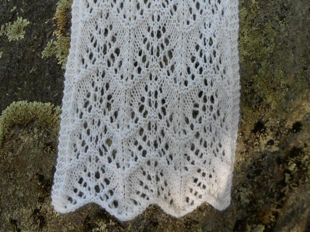 Frost On The Trees Lace Scarf Knitting Patterns And Crochet