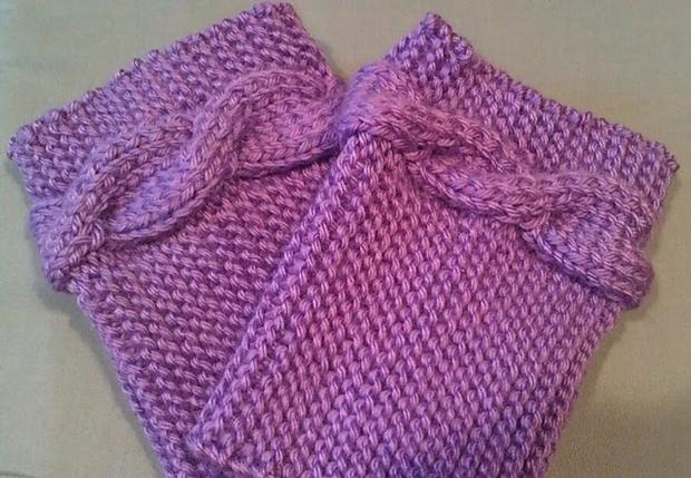 Puddle Jumping Boot Toppers - Knitting Patterns and ...