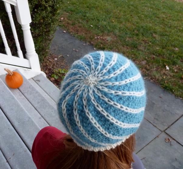 Lighter Than Air Head-hugger Hat - Knitting Patterns and Crochet ...