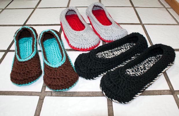 Crochet Ballet Slippers Knitting Patterns And Crochet Patterns
