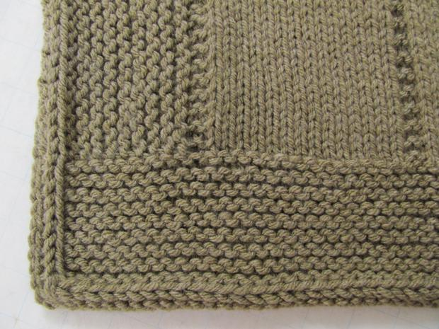 AlterKnit Squares Knit Afghan - Knitting Patterns and ...