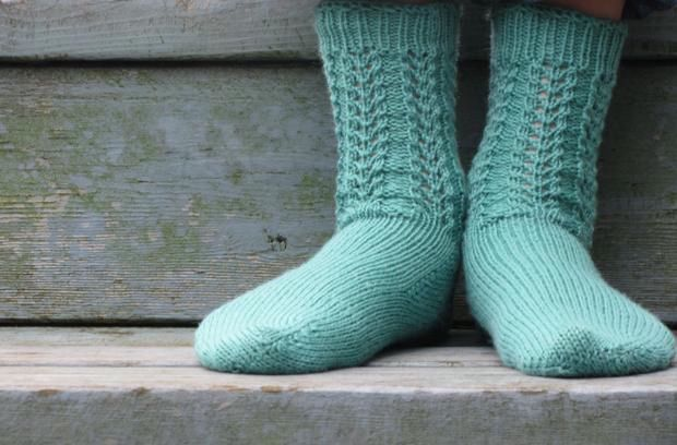 Sweet & Simple Sock - Knitting Patterns and Crochet ...