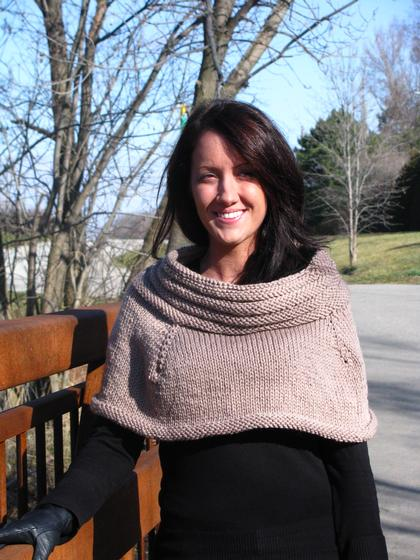 Watson Capelet Knitting Patterns And Crochet Patterns From