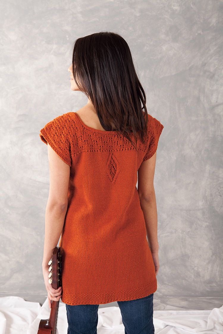 Aniron Tunic Pattern - Knitting Patterns and Crochet Patterns from KnitPicks.com