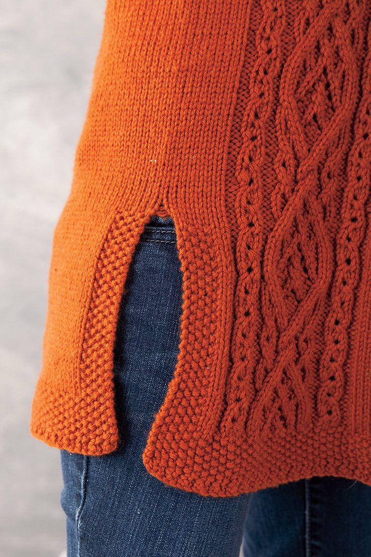 Knitting Patterns For Baby Tunics : Aniron Tunic Pattern - Knitting Patterns and Crochet Patterns from KnitPicks.com