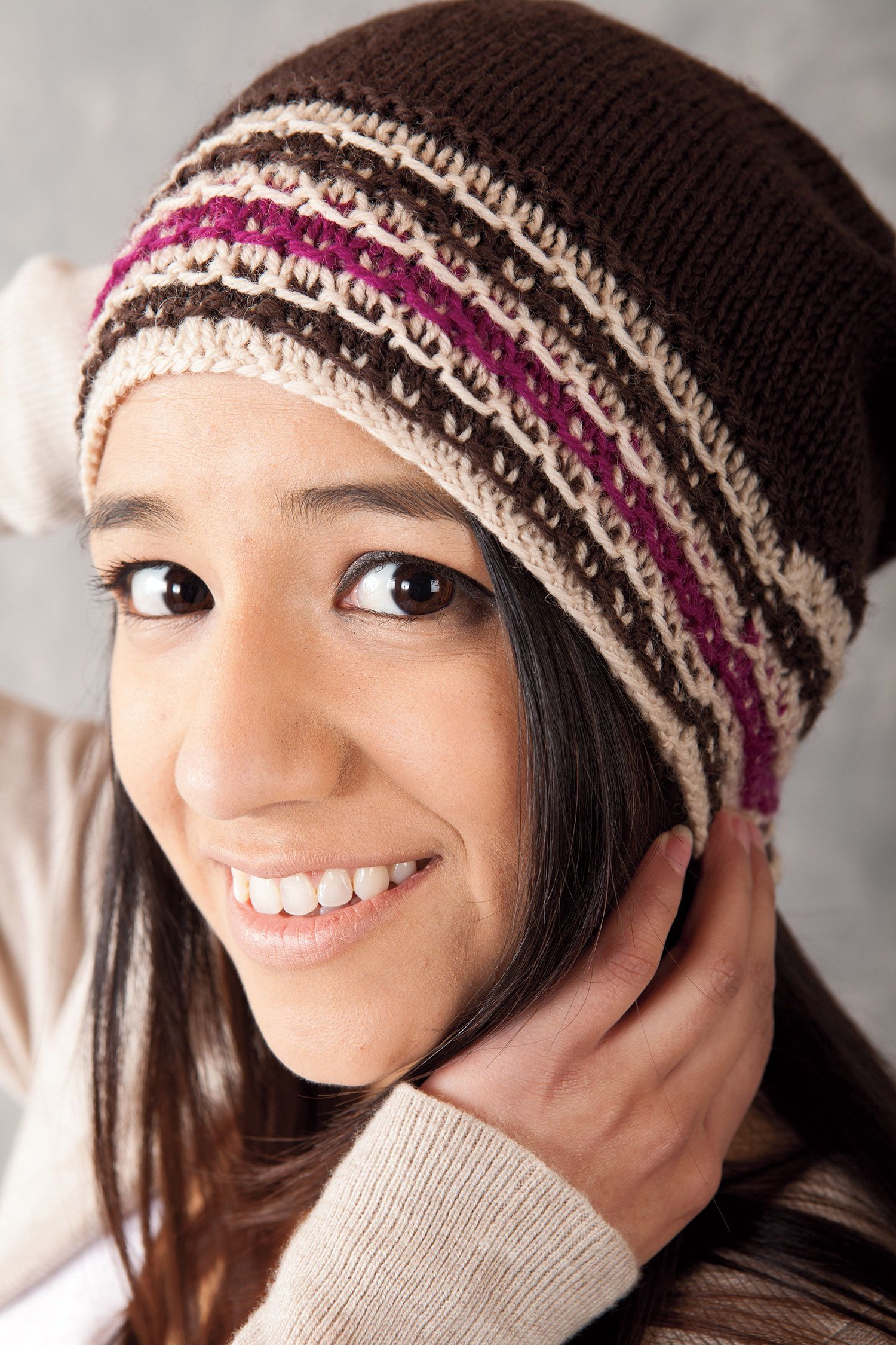 Fragmentary Slouch Hat Pattern - Knitting Patterns and Crochet ...
