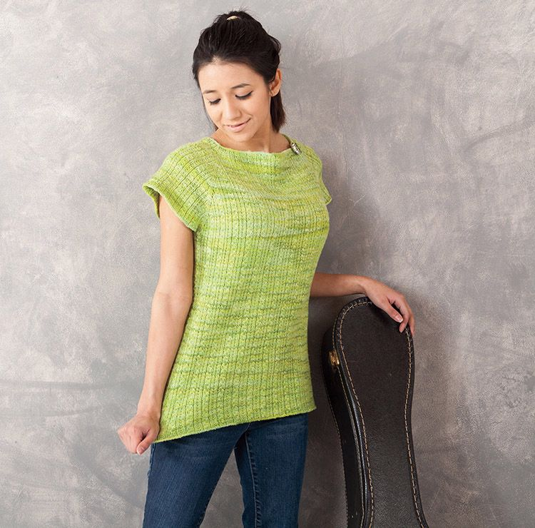 Knitting Top Down : Sauriel top down raglan pattern knitting patterns