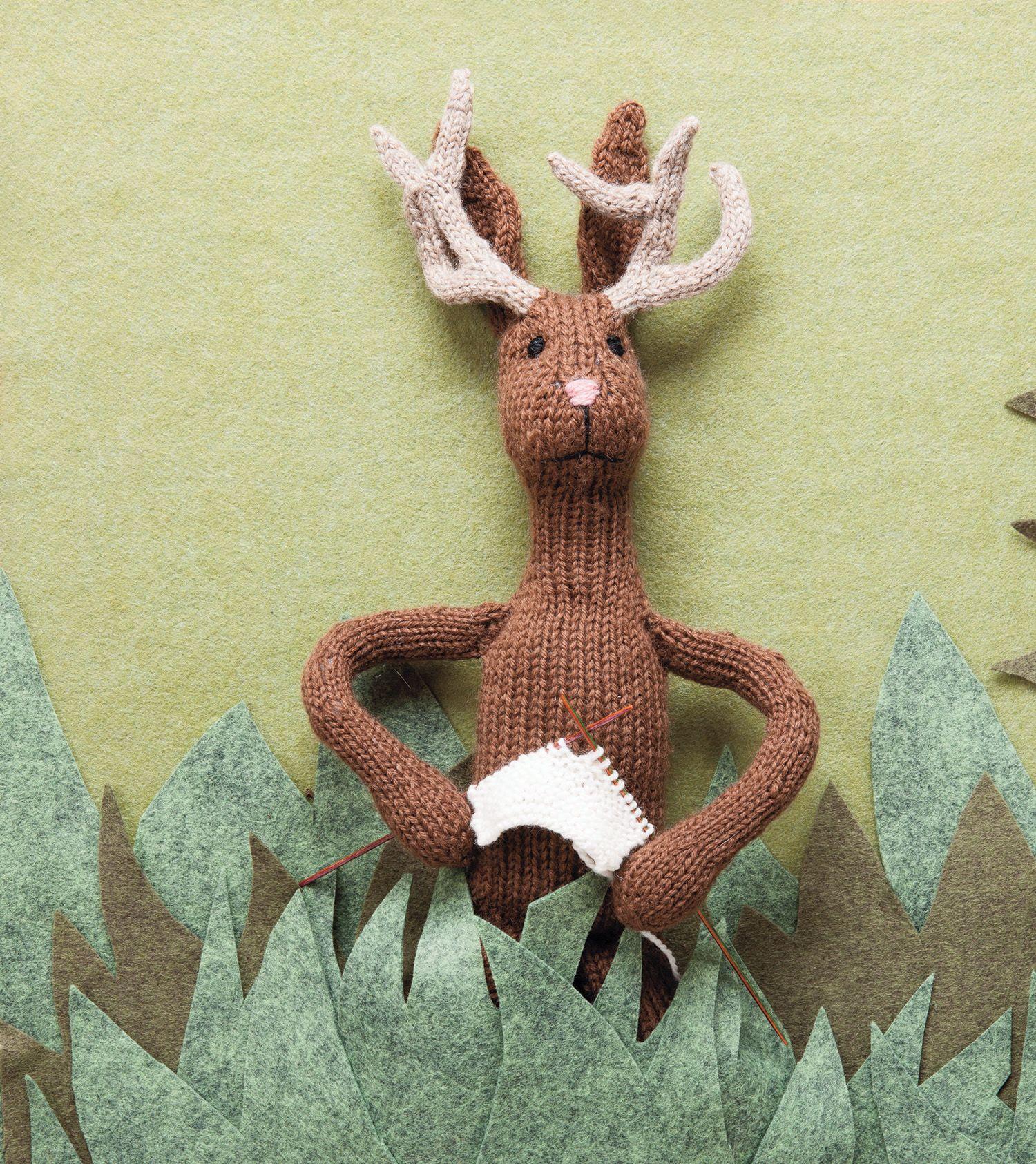 jackalope pattern knitting patterns and crochet patterns from
