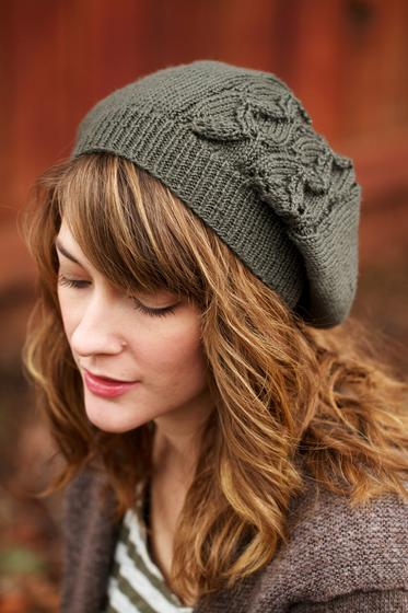 Laurelwood Slouchy Beanie - Knitting Patterns and Crochet Patterns ...