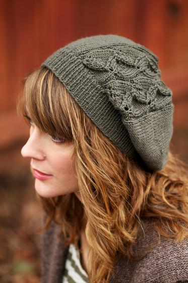 Laurelwood Slouchy Beanie Knitting Patterns And Crochet Patterns