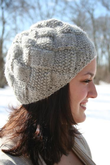 Entrelac winter hat knitting patterns and crochet patterns from entrelac winter hat dt1010fo