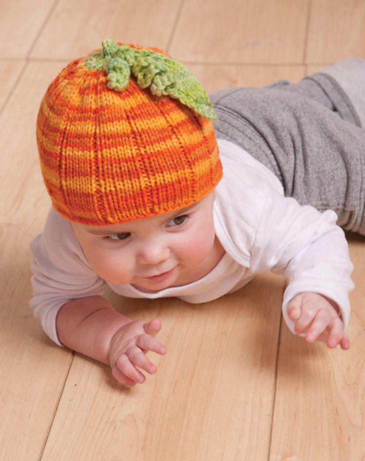 Darling Little Pumpkin Hat Pattern Knitting Patterns And Crochet