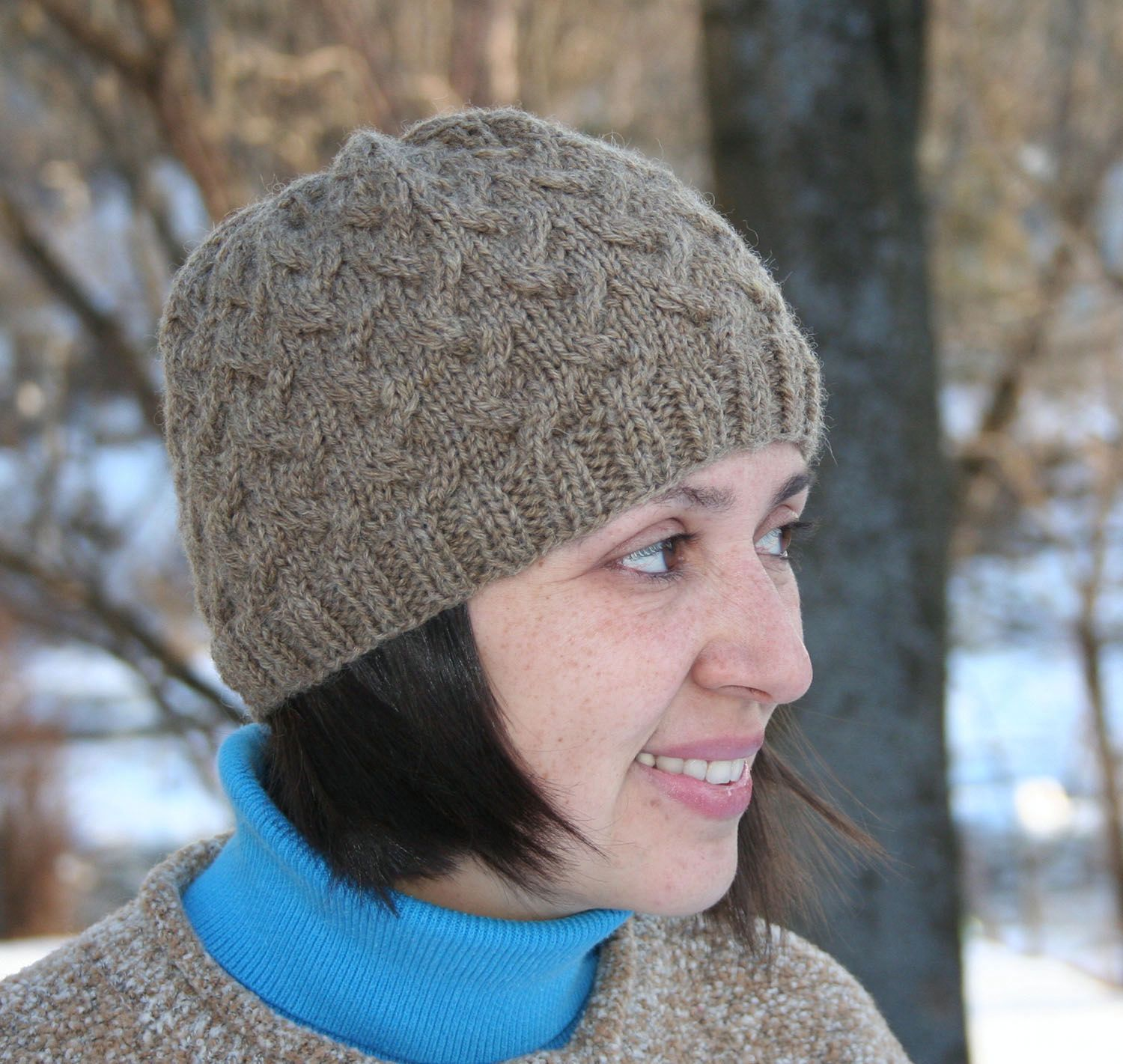 Crossroads Hat Pattern - Knitting Patterns and Crochet Patterns from ...