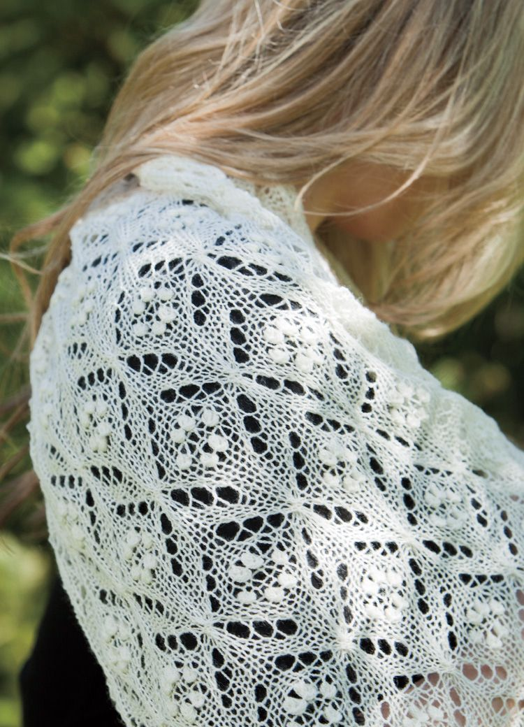 Quatrefoil Lace Scarf Pattern Knitting Patterns And Crochet