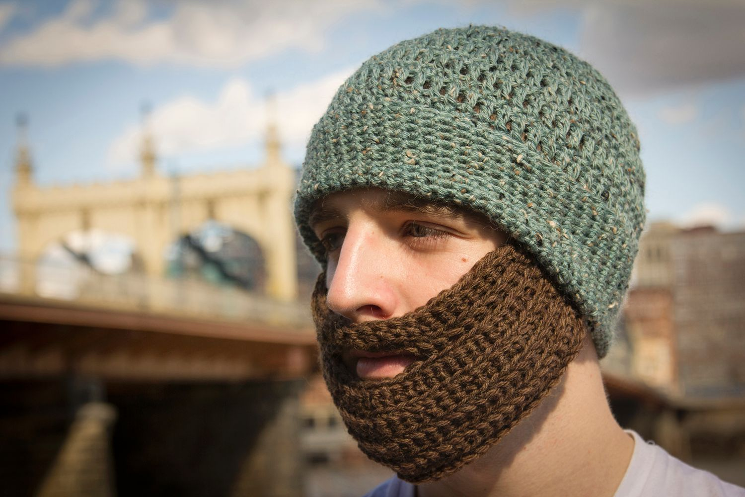 Crochet Bearded Hat - Knitting Patterns and Crochet Patterns from ...