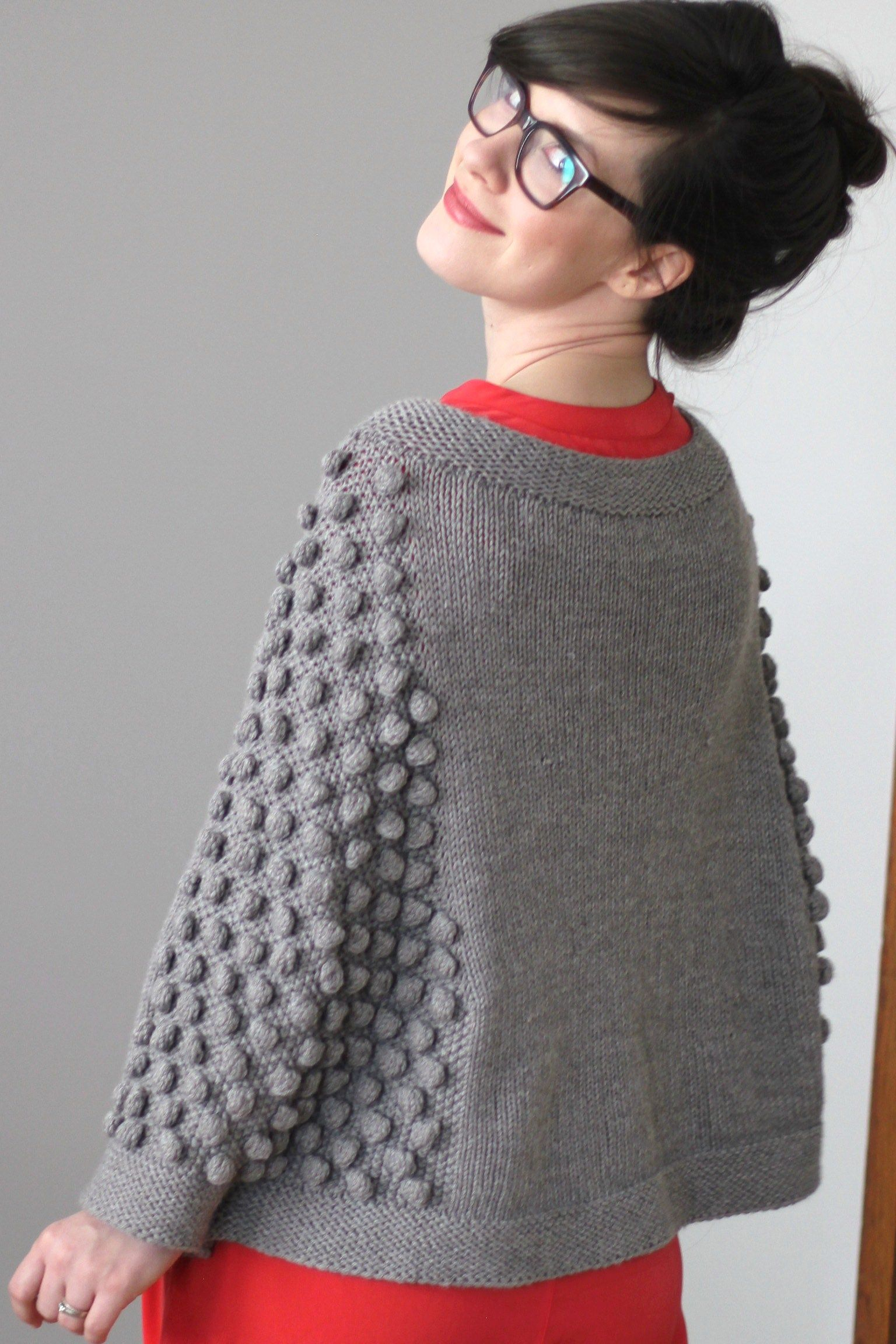 Attractive Cape Knitting Pattern Frieze - Great Sewing Ideas ...