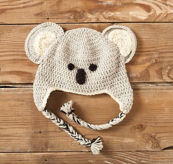 Knitting Animals For Beginners : Crochet zoo of animals hats pattern knitting patterns