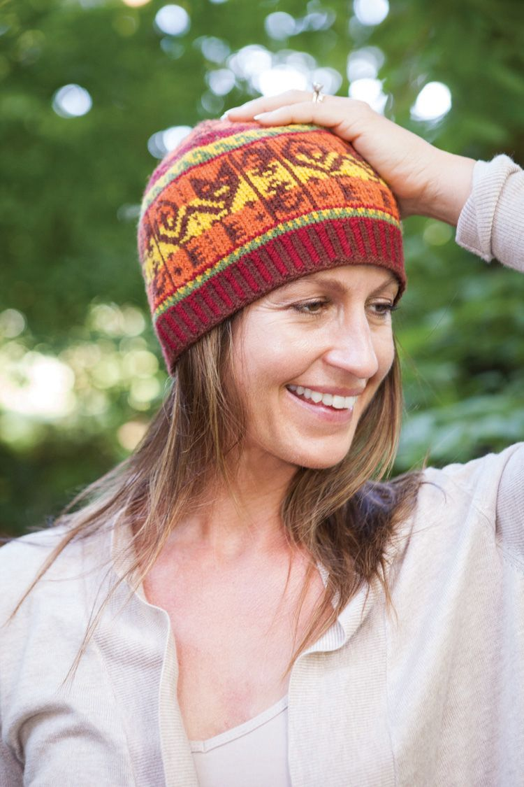 Inca Cat Hat Pattern - Knitting Patterns and Crochet Patterns from ...