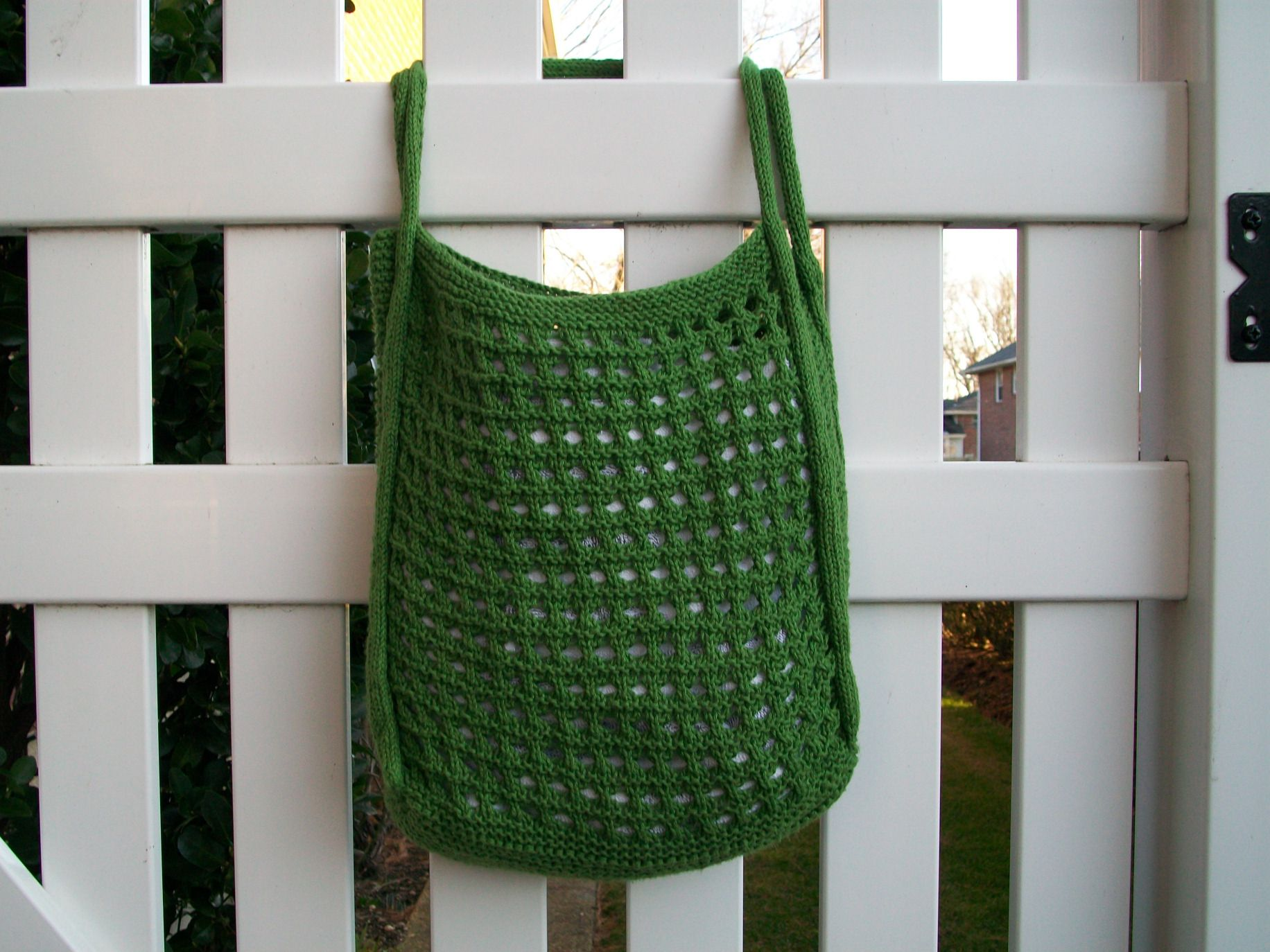 Rattan Tote Pattern - Knitting Patterns and Crochet Patterns from ...