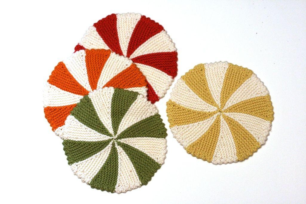 Shaker Dishcloths Coasters Pattern Knitting Patterns And Crochet