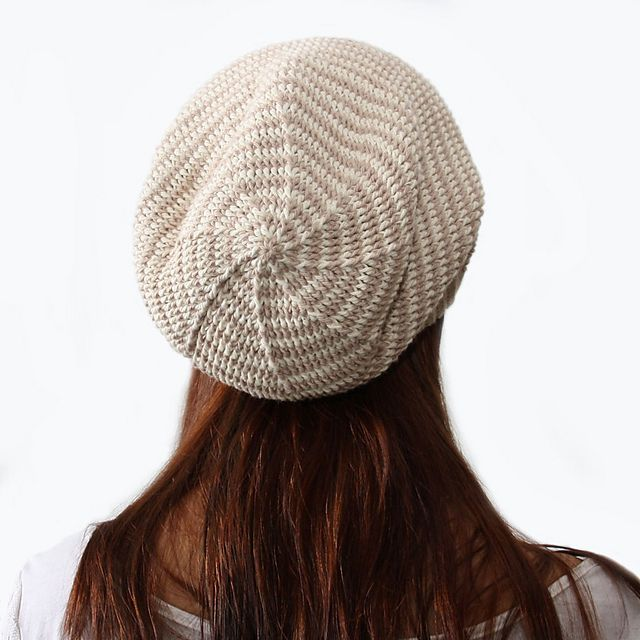 Crochet Striped Slouch Hat Pattern Knitting Patterns And Crochet